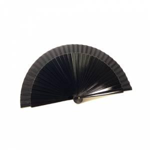 Abanico Liso 19 cm - Abanico Lisos 19 cm NEGRO (Últimas Unidades)