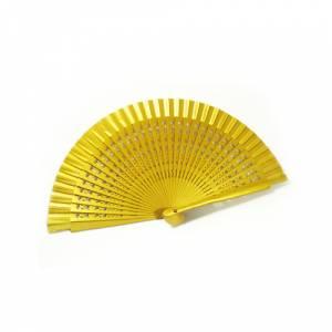 Abanico Calado 19 cms - Abanico Calado 19 cm DORADO (�ltimas Unidades)