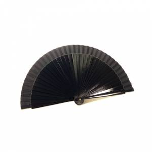 Abanico Liso 19 cms - Abanico Liso 19 cm NEGRO (�ltimas Unidades)